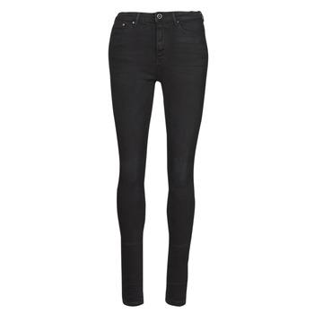 Vêtements Femme Jeans slim Only ONLPAOLA Noir