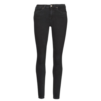 Vêtements Femme Jeans slim Only ONLPOWER Noir