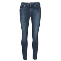 Vêtements Femme Jeans slim Only ONLBLUSH Bleu foncé