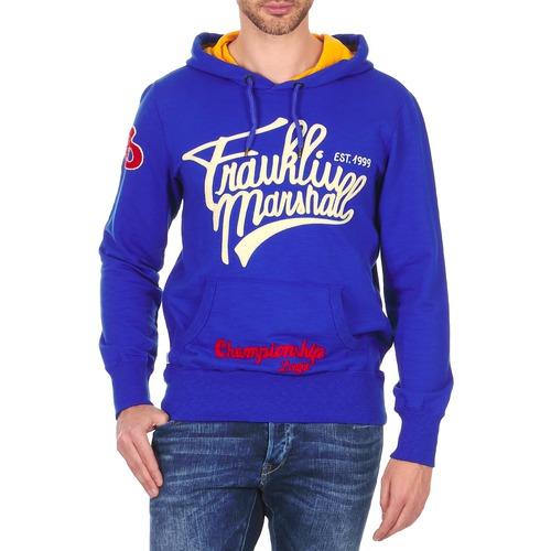 Vêtements Homme Sweats Franklin & Marshall SUNBURY Bleu