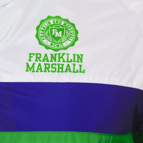 Franklin & Marshall MELBOURNE Vert / blanc / bleu