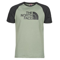Vêtements Homme T-shirts manches courtes The North Face S/S RAGLAN EASY TEE Vert