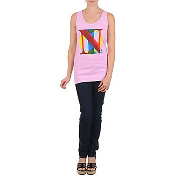 Nixon PACIFIC TANK Rose / Multicolore