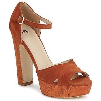 Chaussures Femme Sandales et Nu-pieds JFK OKADOLA Orange