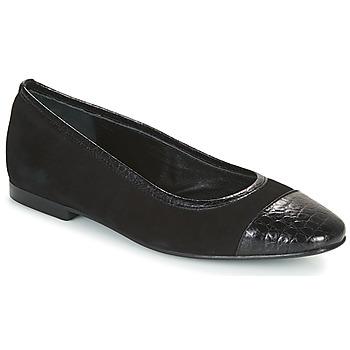 Chaussures Femme Ballerines / babies JB Martin SUCCES Noir