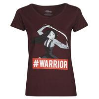 Vêtements Femme T-shirts manches courtes Yurban OHKAV Bordeaux