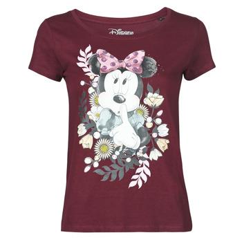 Vêtements Femme T-shirts manches courtes Yurban OHJAVE Bordeaux