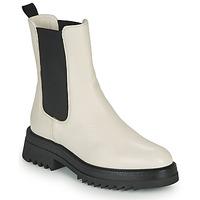 Chaussures Femme Boots JB Martin OPTIMISTE Blanc