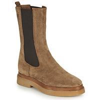 Chaussures Femme Boots JB Martin ORDONNEE Beige