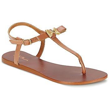 Chaussures Femme Sandales et Nu-pieds Betty London BASTINE Camel