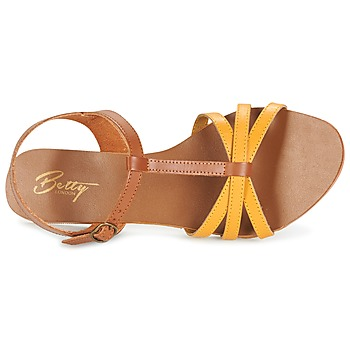 Betty London IXADOL Jaune / Camel