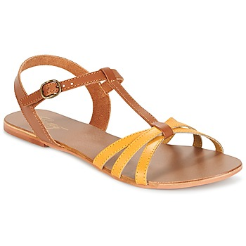 Sandale Betty London IXADOL Jaune / Camel
