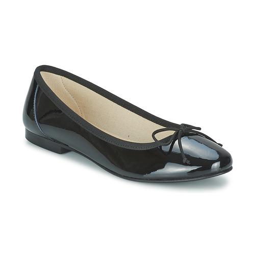 Chaussures Femme Ballerines / babies Betty London VROLA Noir