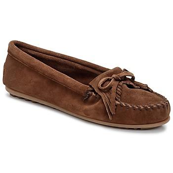 Chaussures Femme Mocassins Minnetonka KILTY Marron foncé