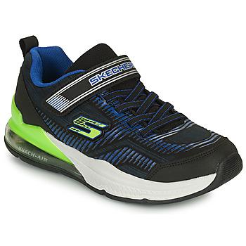 Chaussures Enfant Baskets basses Skechers SKECH-AIR BLAST-TALLIXEEL A Bleu