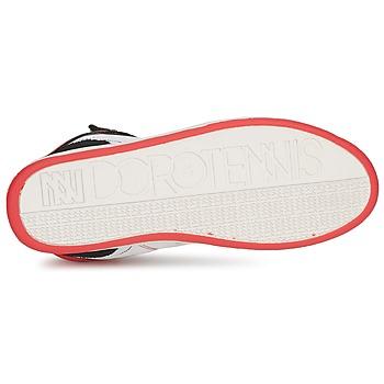 Dorotennis STREET LACETS Rouge / Blanc / Noir