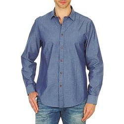 Vêtements Homme Chemises manches longues Ben Sherman BEMA00490 Bleu
