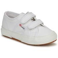 Chaussures Enfant Baskets basses Superga 2750 STRAP Blanc