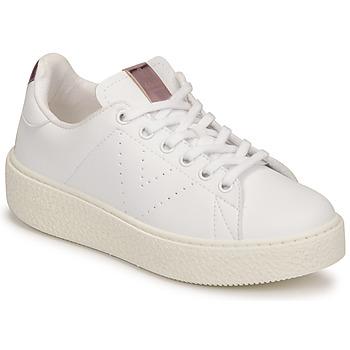 Chaussures Enfant Baskets basses Victoria Tribu Blanc