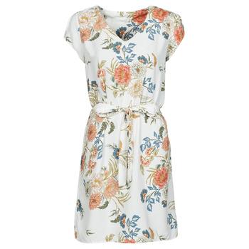 Vêtements Femme Robes courtes Betty London OWAKA Blanc / Multicolore