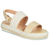 Chaussures Femme Sandales et Nu-pieds Geox LEELU Beige
