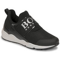 Chaussures Garçon Baskets basses BOSS FETINA Noir