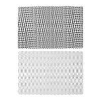 Maison & Déco Set de table Jardin d'Ulysse ODYSSEE X4 Blanc