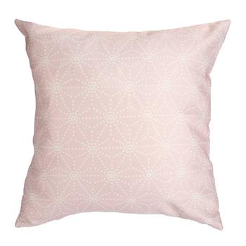 Maison & Déco Coussins Sema Etoiles en pointillés Rose pastel