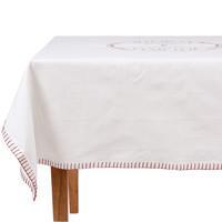 Maison & Déco Nappe Comptoir de famille Brève de comptoir Blanc