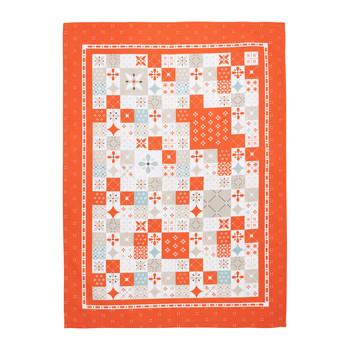 Maison & Déco Torchons Comptoir de famille CIMENT Orange
