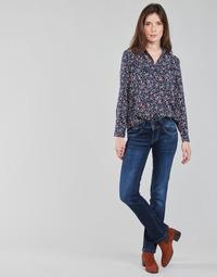 Vêtements Femme Jeans droit Pepe jeans NEW GEN Bleu Brut DH3