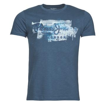 Vêtements Homme T-shirts manches courtes Pepe jeans GOLDERS Bleu