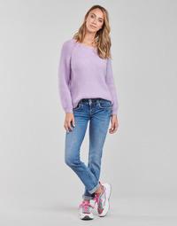 Vêtements Femme Jeans droit Pepe jeans GEN Bleu