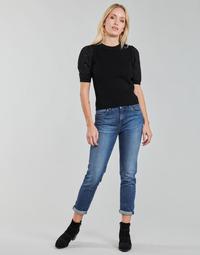 Vêtements Femme Jeans droit Pepe jeans VIOLET Bleu Medium