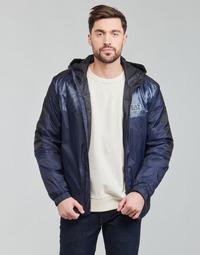 Vêtements Homme Blousons Emporio Armani EA7 TRAIN LOGO SERIES Marine