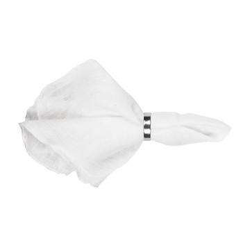 Maison & Déco Serviettes de table Broste Copenhagen GRACIE Blanc