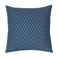 Maison & Déco Housses de coussins Broste Copenhagen LINO Bleu