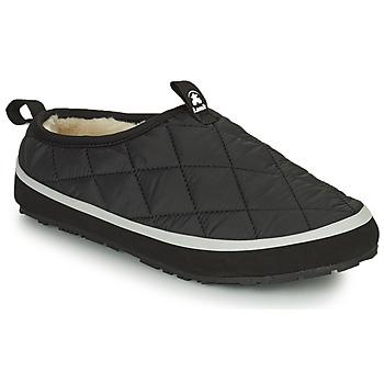 Chaussures Femme Chaussons KAMIK PUFFY Noir