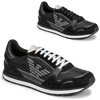 Chaussures Homme Baskets basses Emporio Armani ANIMA Noir
