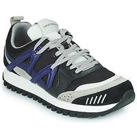 Chaussures Homme Baskets basses Emporio Armani BOLINNA Noir / Blanc / Bleu