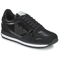 Chaussures Femme Baskets basses Emporio Armani TAPINO Noir