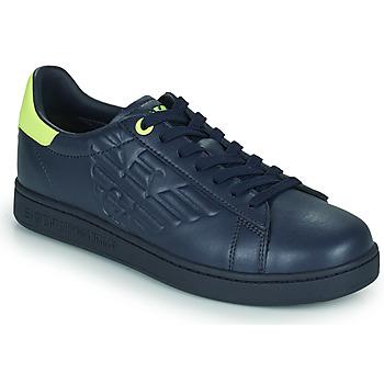 Chaussures Homme Baskets basses Emporio Armani EA7 CLASSIC NEW CC Bleu