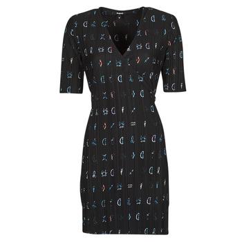 Vêtements Femme Robes courtes Desigual SOLE Noir