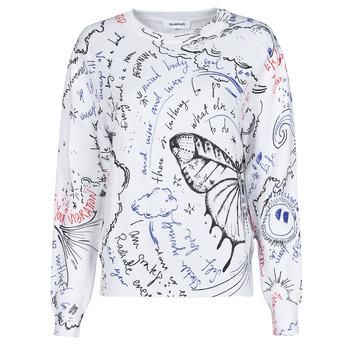 Vêtements Femme Pulls Desigual BOSTON Blanc