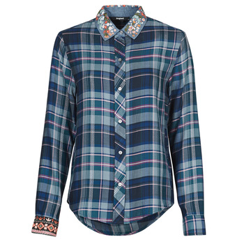 Vêtements Femme Chemises / Chemisiers Desigual SUSAN SONTAG Bleu