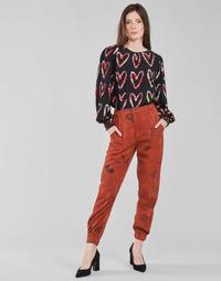 Vêtements Femme Pantalons fluides / Sarouels Desigual CAMOTIGER Rouge