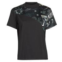 Vêtements Femme T-shirts manches courtes Desigual GRACE HOPPER Noir