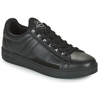 Chaussures Homme Baskets basses Replay PINCH BASE MAN Noir