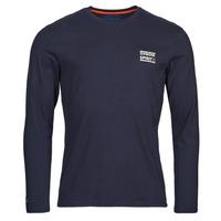 Vêtements Homme T-shirts manches longues Oxbow N2TORJOK Marine