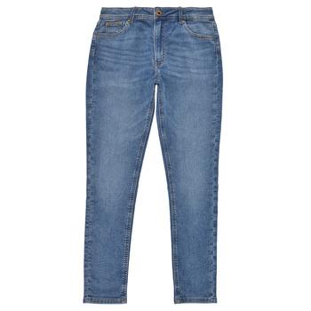 Vêtements Fille Jeans skinny Pepe jeans PIXLETTE HIGH Bleu